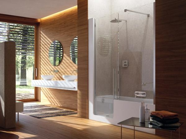 55 Prima Vorschläge Für Badewannen Mit Tür! - Archzine.net Badezimmer Ausstattung