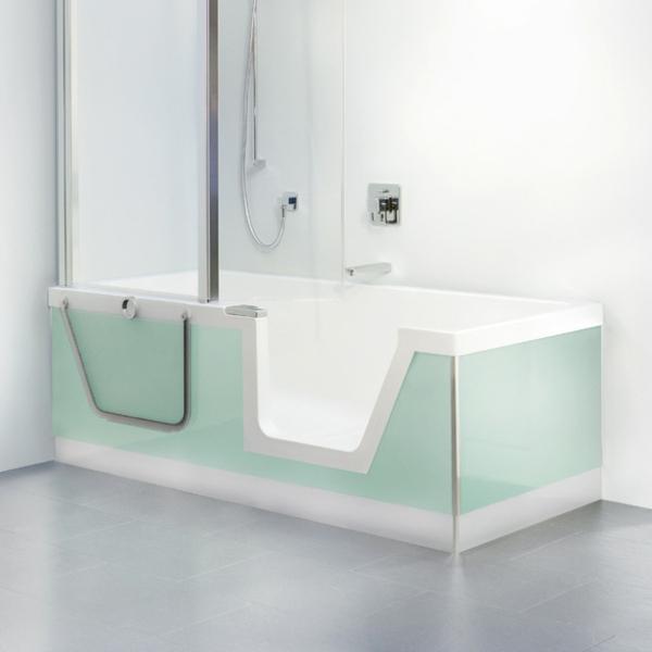 badewannen mit t ren das beste aus wohndesign und m bel inspiration. Black Bedroom Furniture Sets. Home Design Ideas