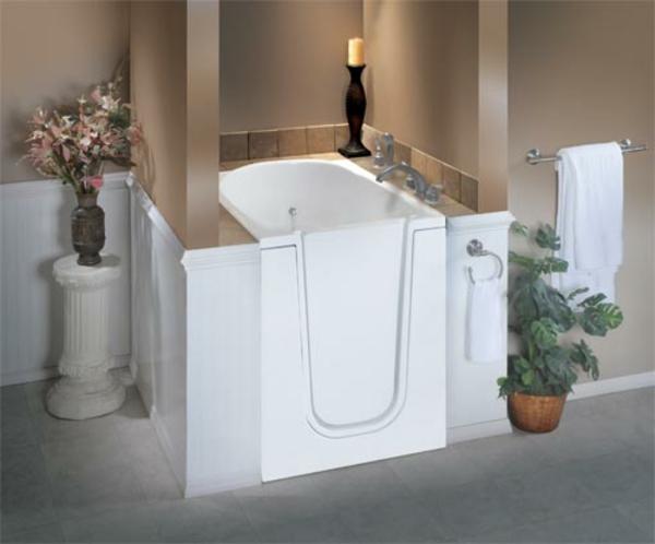 Kleine badewannen  55 prima Vorschläge für Badewannen mit Tür! - Archzine.net