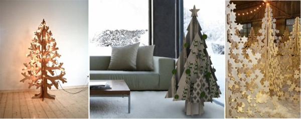 kreative weihnachtsb ume. Black Bedroom Furniture Sets. Home Design Ideas