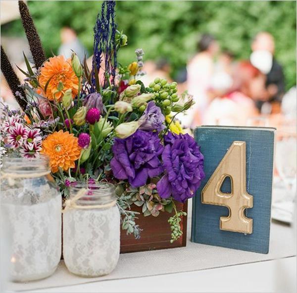 Vintage Tischdeko Zur Hochzeit   100 Faszinierende Ideen!   Archzine.net