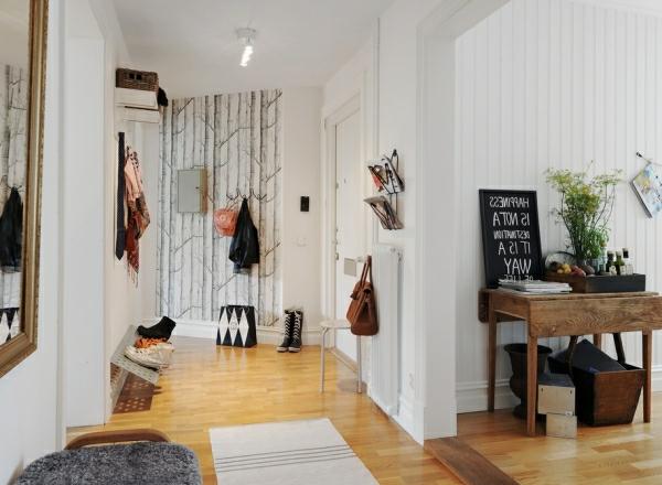 coole-Gestaltung-für-den-Flur-Wohnidee
