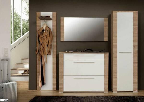 coole-Wohnideen-für-Zuhause-Flur-mit-modernen-Möbeln