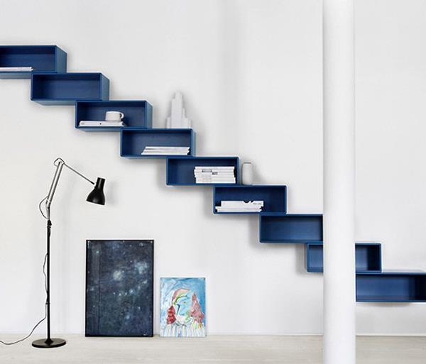 coole-moderne-Innentreppen-in-Blau