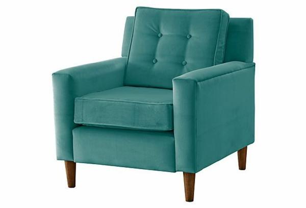 cooler-blauer-sessel-aus-samt