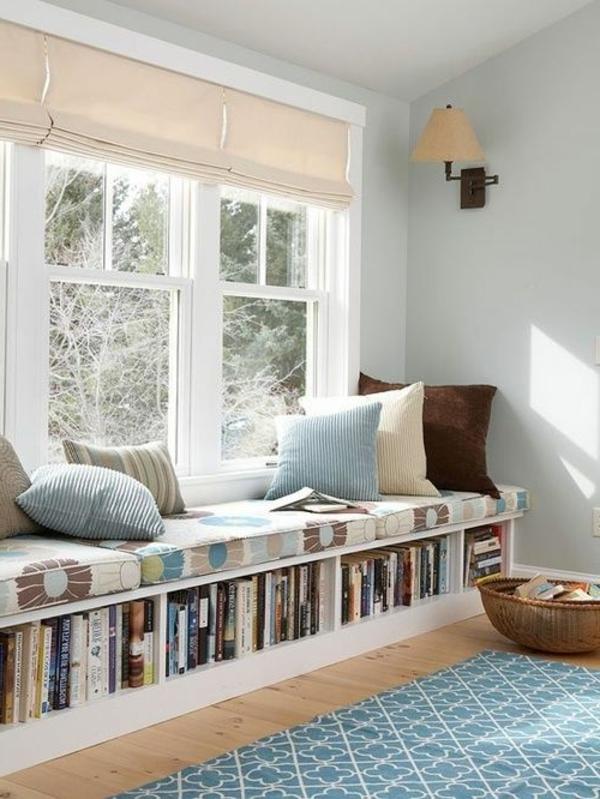 Sitzbank f r flur 110 merkw rdige ideen - Fensterbank zum sitzen bauen ...