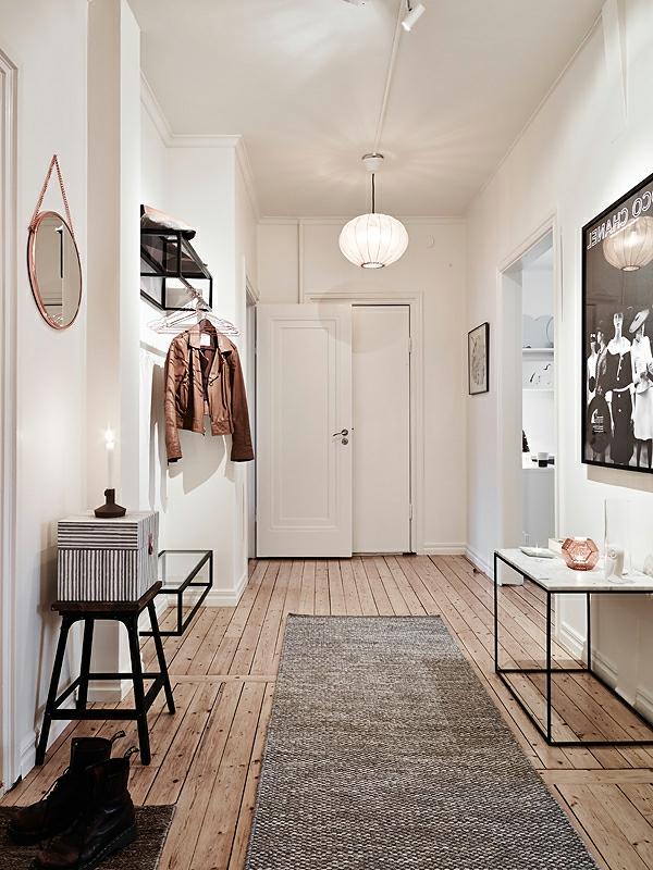 einen-gemütlichen-und-stilvollen-Flur-im-Skandinavischen-Stil