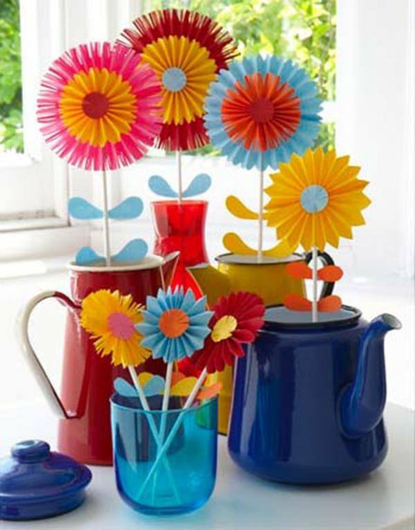 Blumen Falten Aus Papier ~ Alles Bild Für Ihr Haus Design Ideen