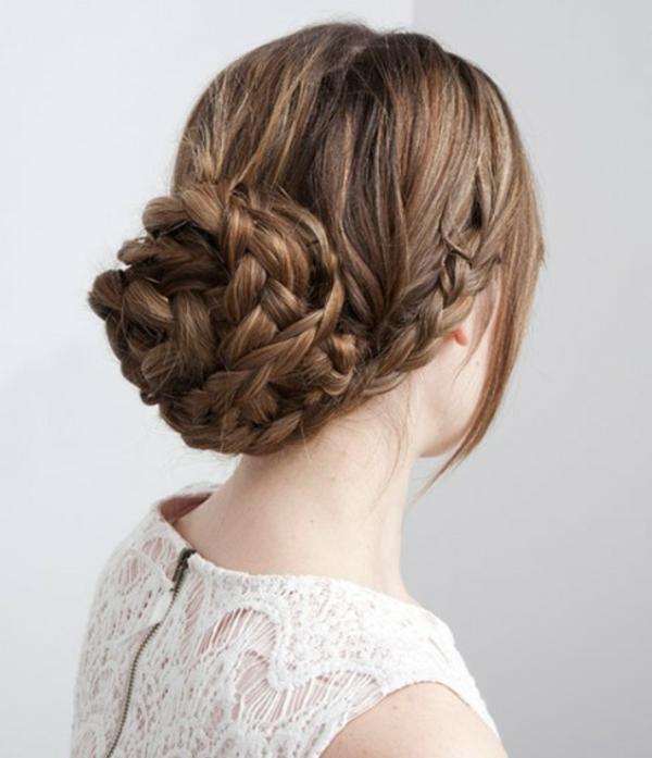 einfache-frisuren-für-lange-haare-elegant-zöpfe