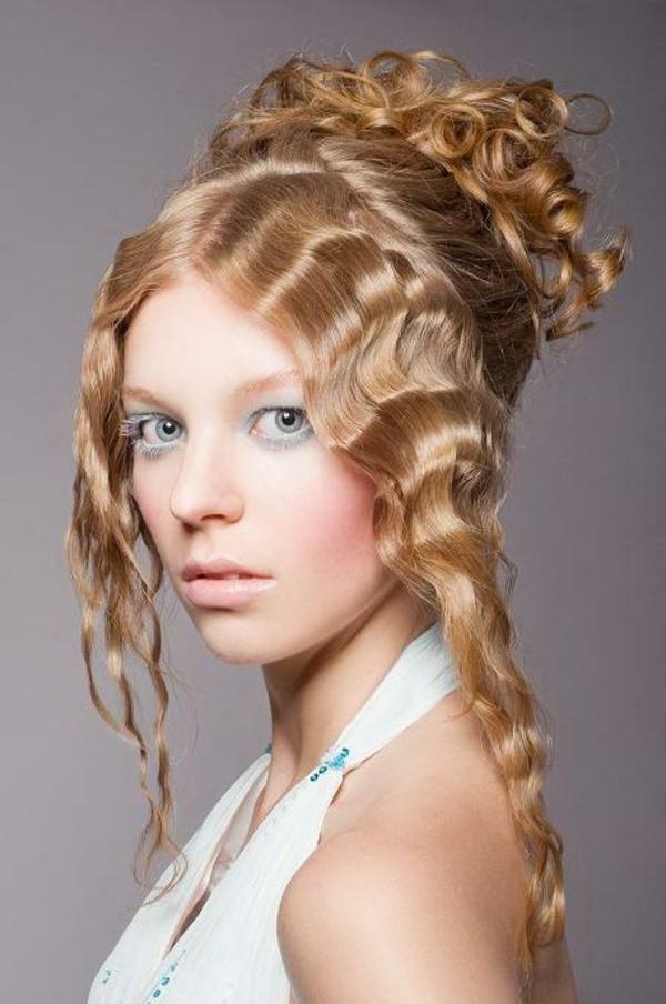 einfache-frisuren-für-lange-haare-extravagantes-aussehen