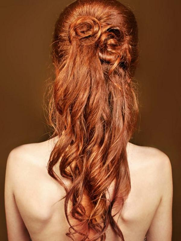 einfache-frisuren-für-lange-haare-orange-frisur