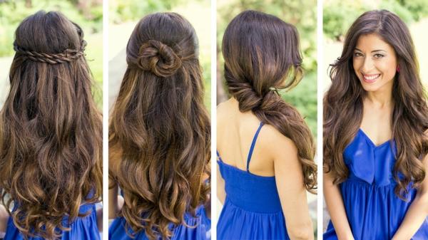 40 Wedding Hairstyles For Long Hair That Really Inspire: 40 Einfache Frisuren Für Lange Haare!