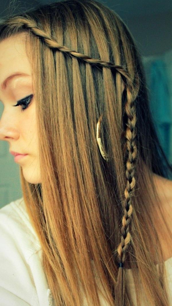 40 einfache Frisuren für lange Haare!