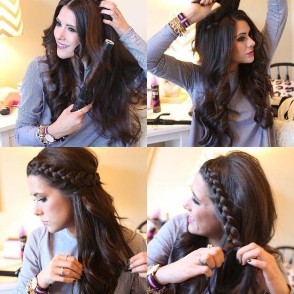 einfache-frisuren-lange-sexy-braune-haare