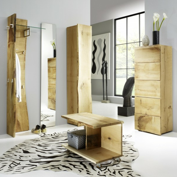 garderobe eiche massiv modern das beste aus wohndesign. Black Bedroom Furniture Sets. Home Design Ideas