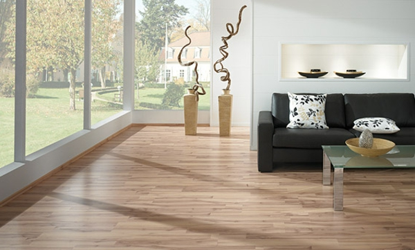 wohnzimmer boden idee:Moderner Laminatboden – 130 schöne Beispiele!
