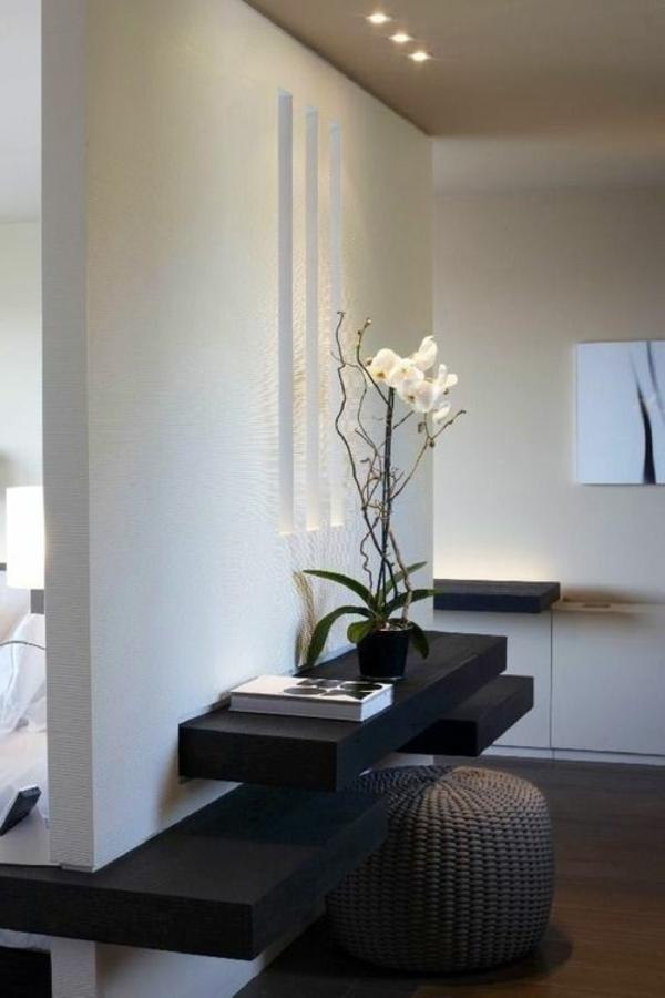 elegante-Einrichtung-Sitzbank-für-Flur-aus-Holz
