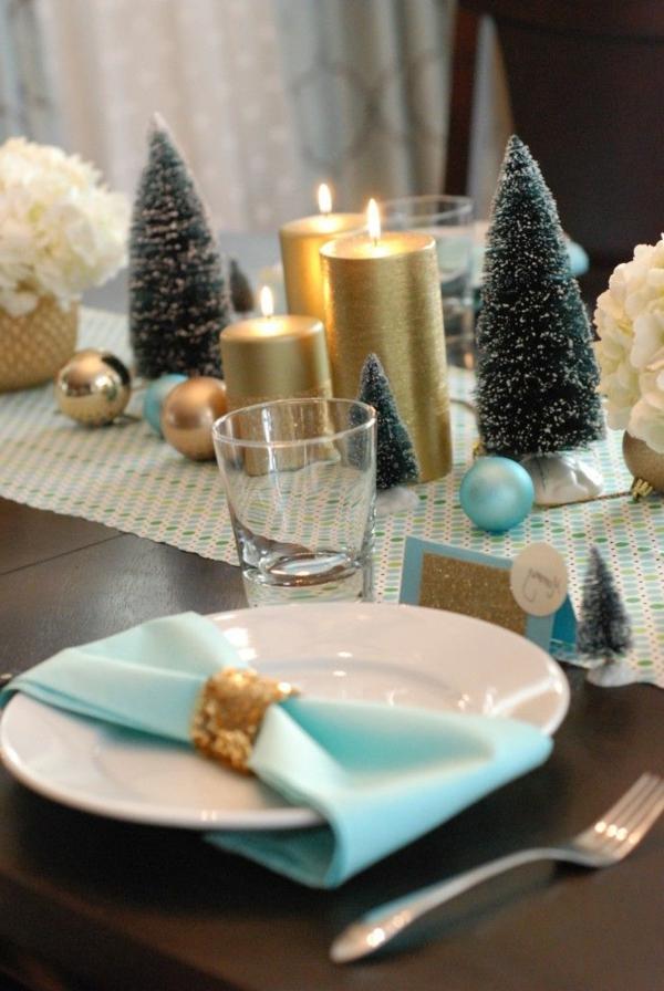 elegante-Weihnachtsdeko-günstig-Weihnachtsdeko-selber-machen-Deko-für-Tisch