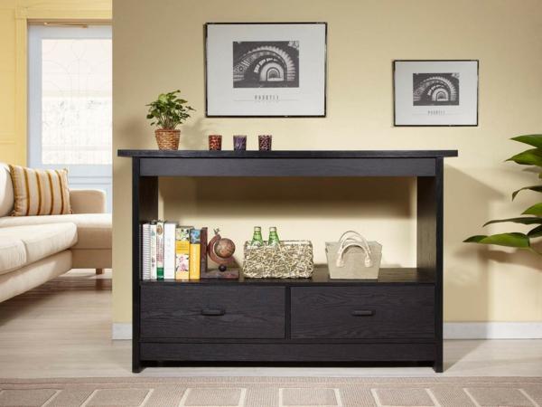 elegante-Wohnideen-für-Zuhause-Flur-mit-modernen-Möbeln