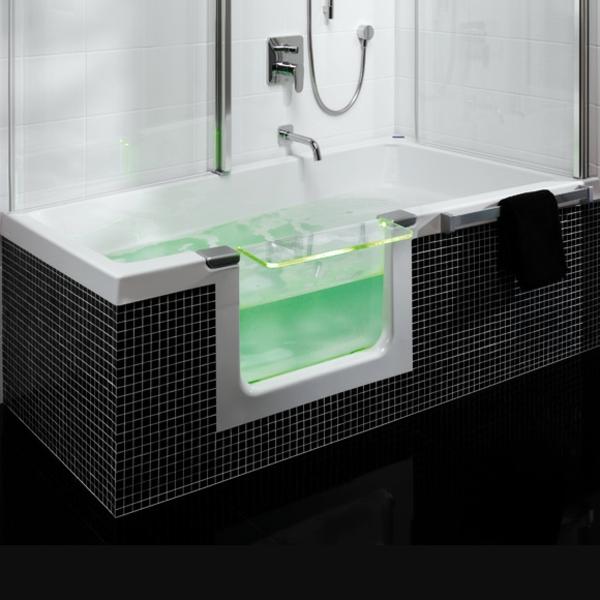 badewannen mit t ren das beste aus wohndesign und m bel. Black Bedroom Furniture Sets. Home Design Ideas