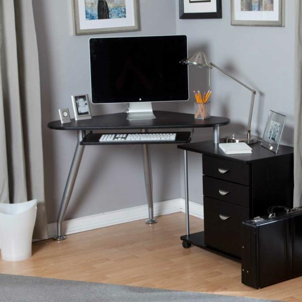 erstaunlicher-Schreibtisch-Schwarz-mit-modernem-Design