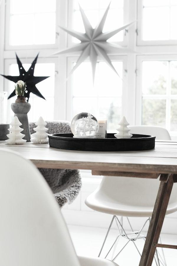 fantastische-Dekoideen-Weihnachtsdekoration-Tisch-