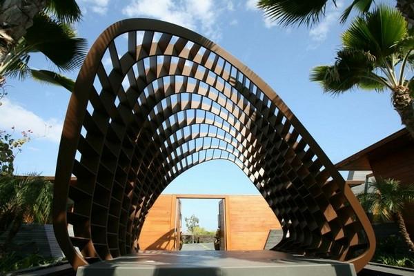 fantastische-moderne-Architektur-Luxus-Design-Eingang