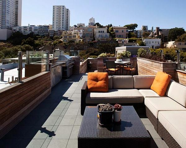 fantastische-stilvolle-Terrasseneinrichtung--Dachterrasse