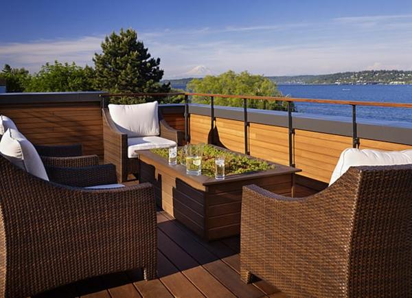 fantastische-stilvolle-Terrasseneinrichtung-Design-für-Dachterrasse