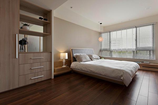 Parkett dunkel schlafzimmer  120 Raumdesigns mit Holzboden - Archzine.net