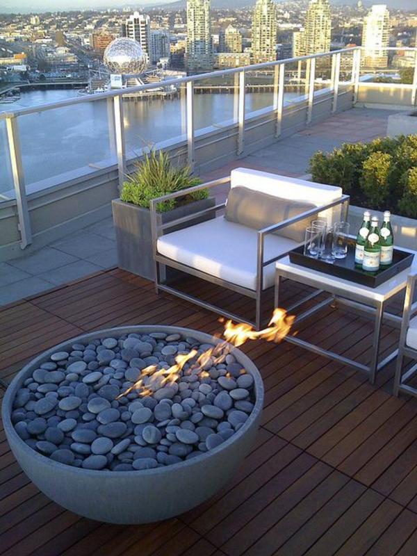 Uberlegen Moderne Dachterrasse Unterhaltungsmoglichkeiten Emejing