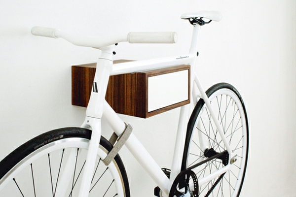 fahrradhalter 40 moderne und praktische ideen. Black Bedroom Furniture Sets. Home Design Ideas