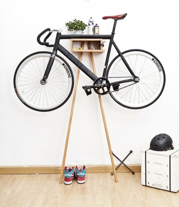 ganz-moderne-Aufbewahrungeideen-für-Fahrräder-Fahrradständer