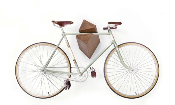 Fahrradhalter 40 moderne und praktische ideen - Fahrradhalterung wand holz ...