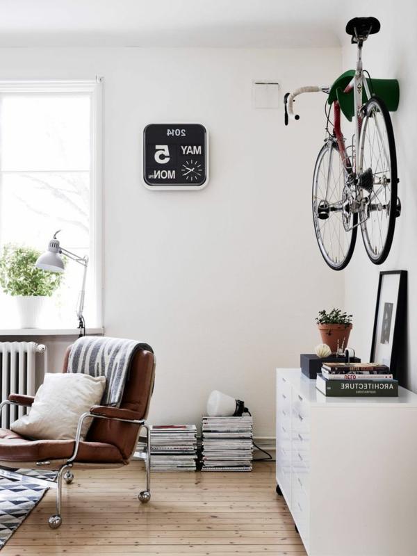 Fahrradhalter - 40 moderne und praktische Ideen