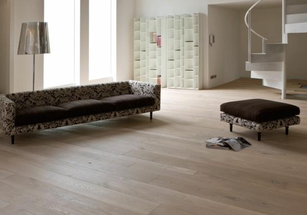 Wohnzimmer Ideen wohnzimmer ideen parkett : Parkettboden - Stil und Klasse in 130 Fotos! - Archzine.net
