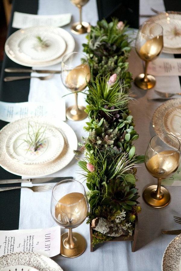 grüne-Weihnachtsdeko-günstig-Weihnachtsdeko-selber-machen-Deko-für-Tisch