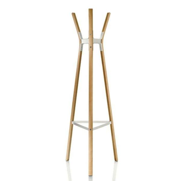 hölzerner-Garderobenständer-mit-modernem-Design-Wohnidee