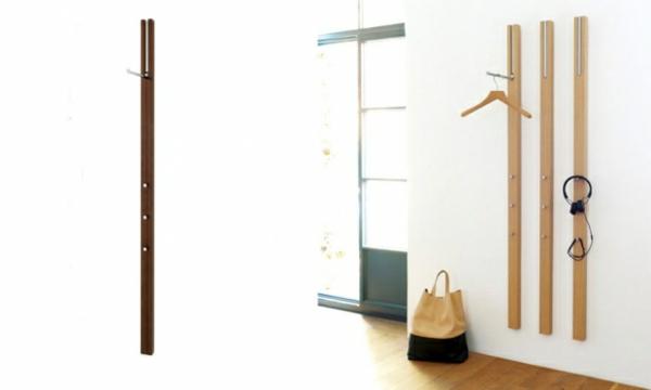 Kleiderständer Aus Holz Design ~ hölzerner Garderobenständer mit modernem Design Wohnidee