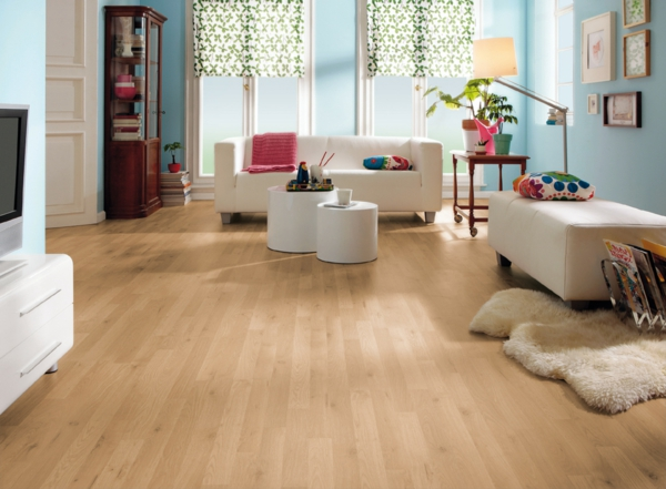 wohnzimmer laminat farbe. Black Bedroom Furniture Sets. Home Design Ideas