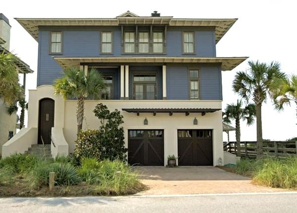 Fassadenfarbe blau grau  Hausfassade Farbe: 65 ganz gute Vorschläge! - Archzine.net