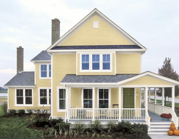 Hausfassade Farbe 65 Ganz Gute Vorschl Ge