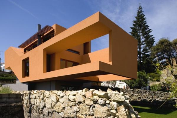 Hausfassade Farblich Gestalten hausfassade farbe 65 ganz gute vorschläge archzine
