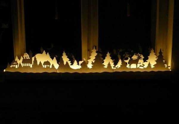 Fensterdeko zu weihnachten 67 super bilder - Fensterdeko weihnachten beleuchtet ...