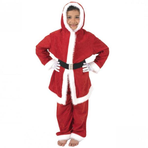 interessantes-weihnachtsmann-kostüm-für-kinder