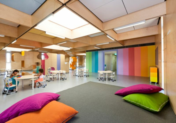100 moderne ideen f r kindergarten interieur - Farben im interieur stilvolle ambiente ...