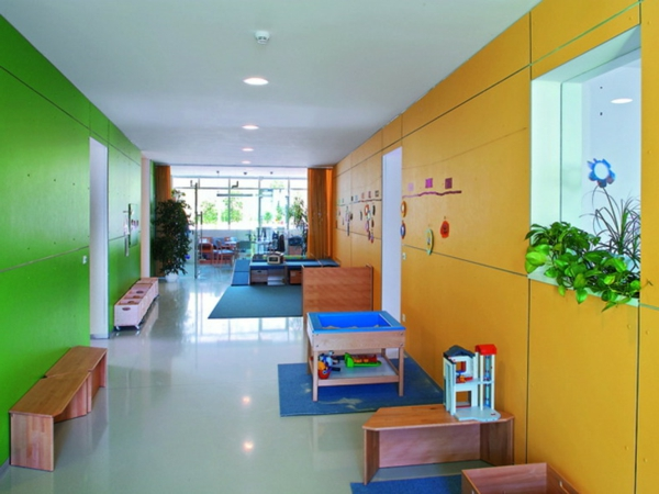100 moderne ideen f r kindergarten interieur for Design interieur cours