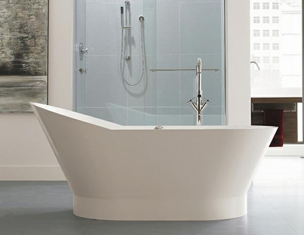 kleine badewannen freistehend auffallige form 130 cm lange