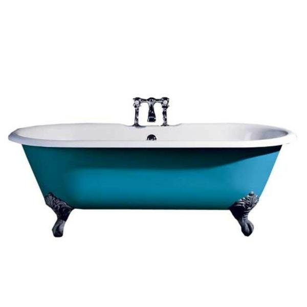 kleine-badewannen-freistehend-blaues-retro-design