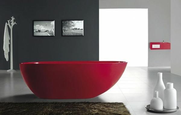 kleine-badewannen-freistehend-cooles-rotes-modell